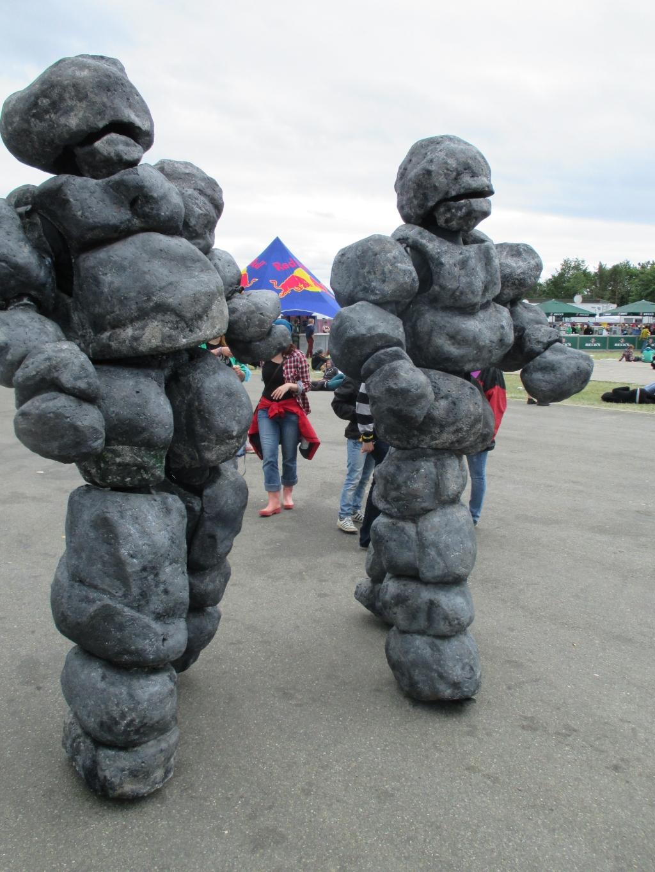 8 augustus: Stone-age rocks!  © Kliknieuws Oss