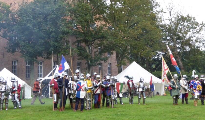 Het middeleeuwse feest op Kloster Graefenthal vindt plaats op 3 en 4 oktober