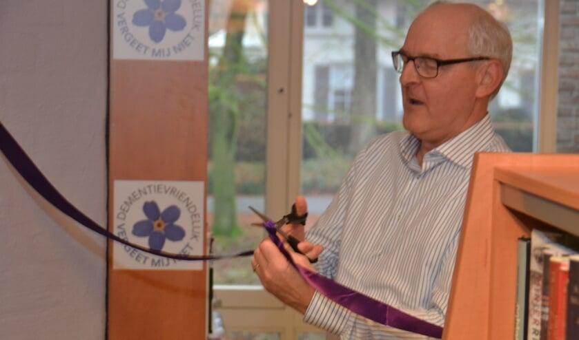Archieffoto: Wethouder Riny van Rinsum opent de Dementheek.