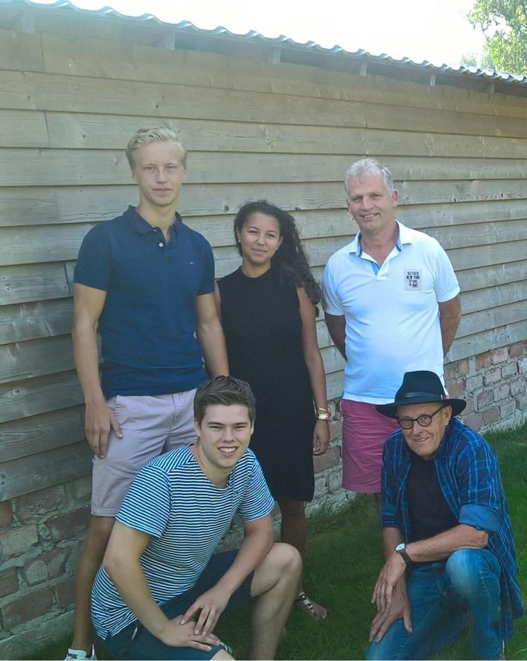 Thijs (linksboven) wordt lijsttrekker.  © Kliknieuws Veghel