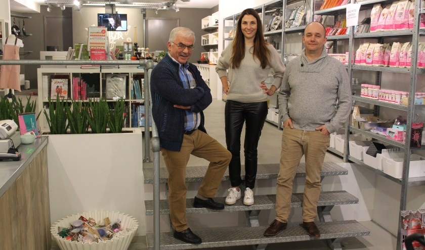 Wim Vollenberg, Anneke Peters en Mark van de Camp.