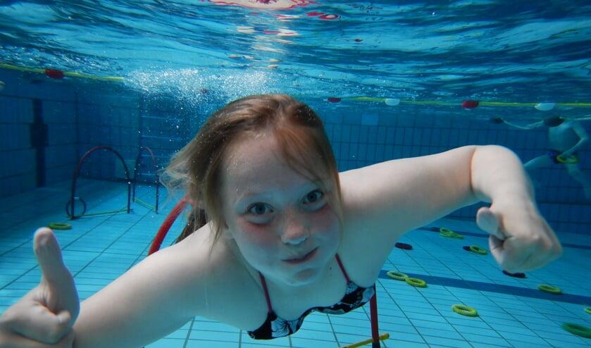 Zwemmen bij Golfbad Oss.