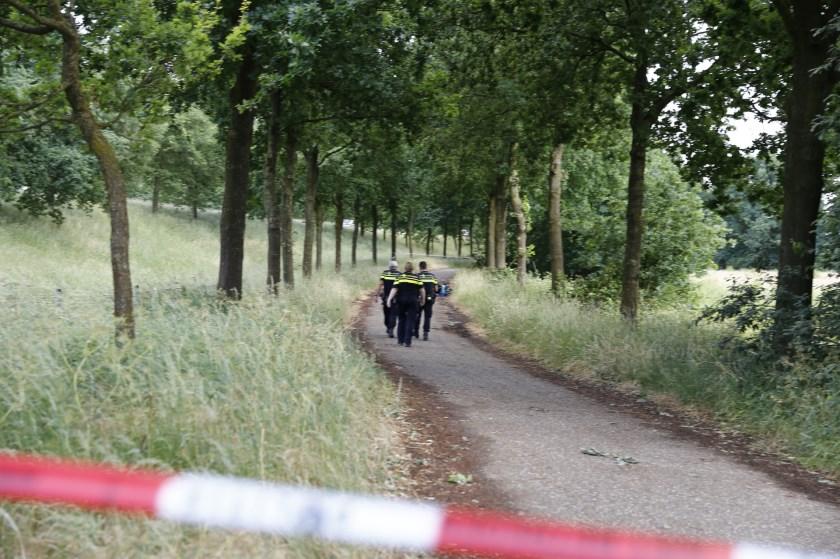 Onderzoek in Cuijk. (Foto SK-Media)