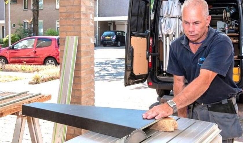 Gerrie Wolfs levert maatwerk bij Wolfs Traprenovatie.