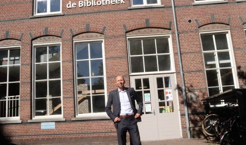 Directeur BiblioPlus Cyril Crutz vindt de periode van de gemeentelijke begrotingen een spannende tijd. (Tekst en foto: Annelies Graafsma)