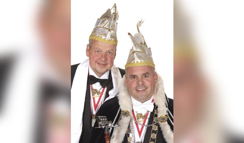 Grootvorst Sander en Adjudant Jeroen bij De Raauw Ossekar