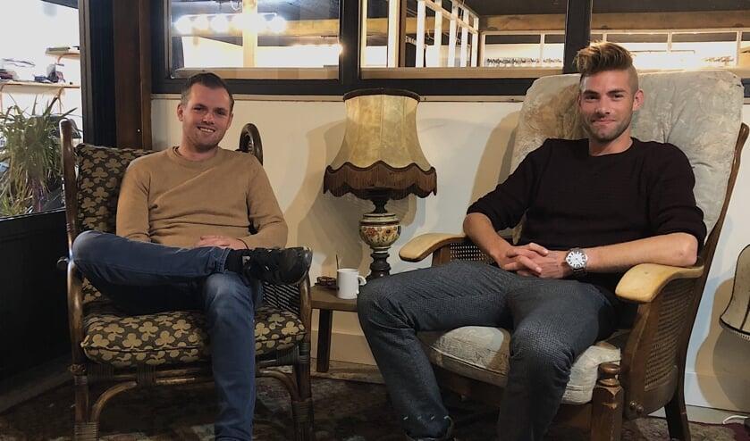 Dirk Delisse (links) en Joris van den Bergh (rechts) hebben iets nieuws bedacht.