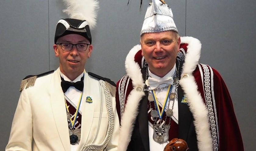 Erwin Veld en Peter Kusters. (Foto: Facebook Krullendonk)