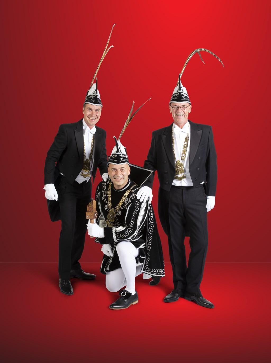Het enthousiaste trio heeft er zin in.  © Kliknieuws Veghel