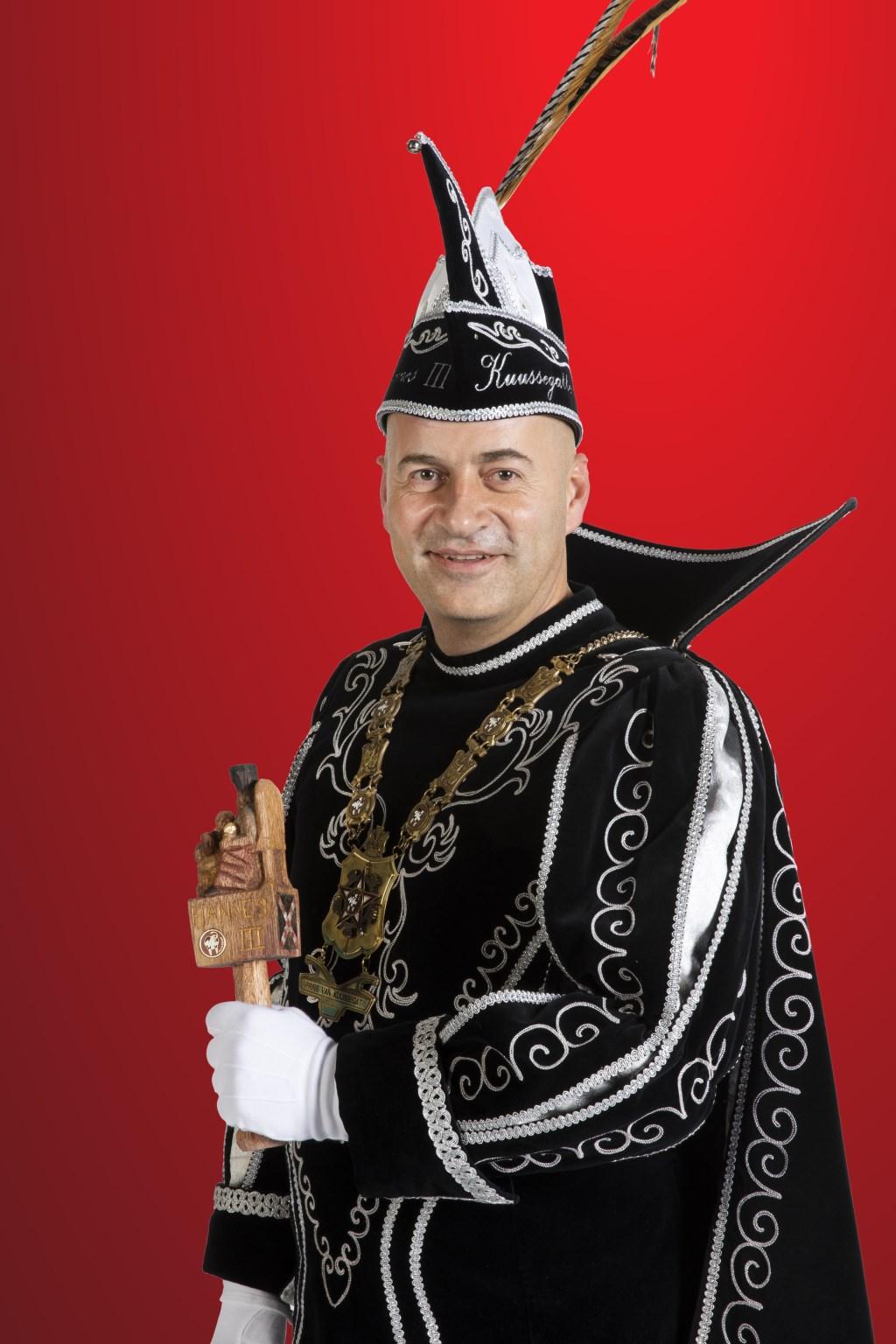 'Ik kan niet wachten met alles wat ik ga meemaken als Prins van Kuussegat'  © Kliknieuws Veghel