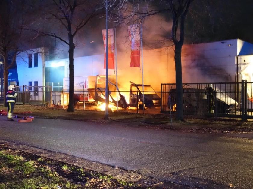 Brand bij Partyservice in Stijl.
