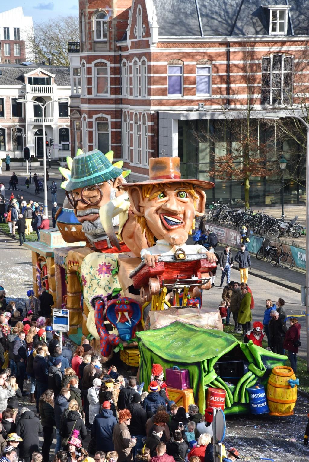 Carnaval in Oss.  © Kliknieuws Oss