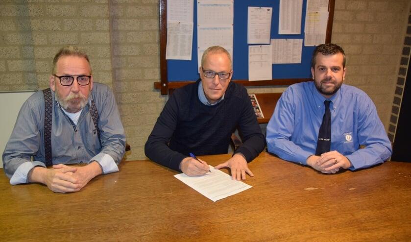 Marco Benneheij, trainer van Achilles Reek.