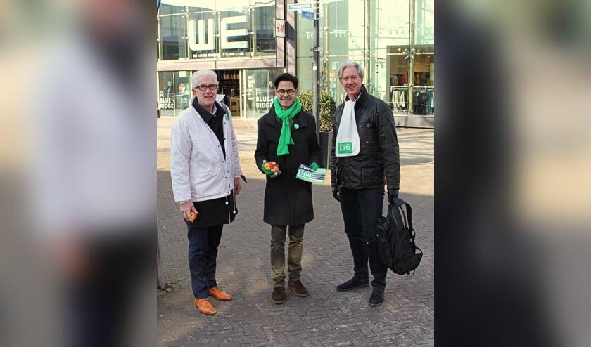 Matthie van Merwerode, Rob Jetten en Cock de Jong