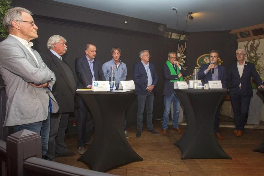 Deelnemers aan het debat