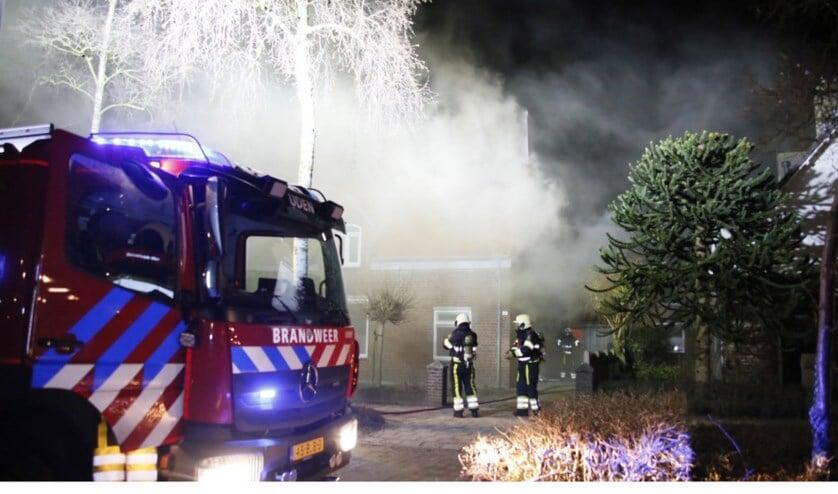 De brand in de Verduijnstraat vannacht