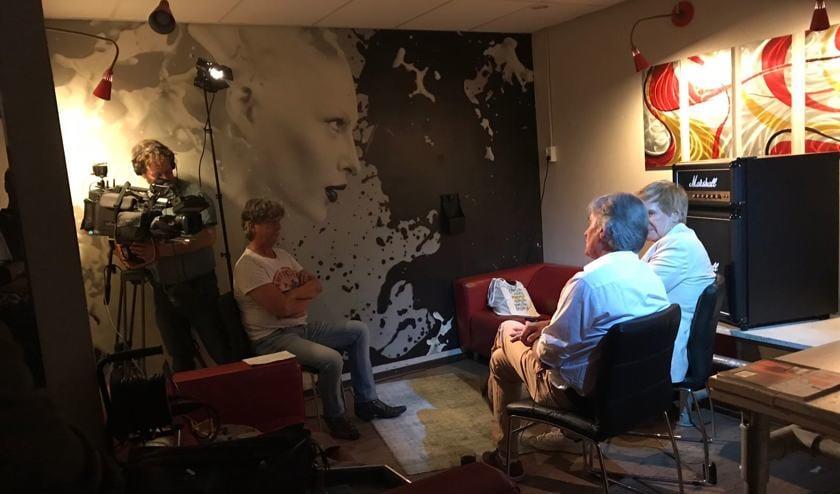 Addy van den Krommenacker en Alphons Arts in gesprek met Omroep Brabant
