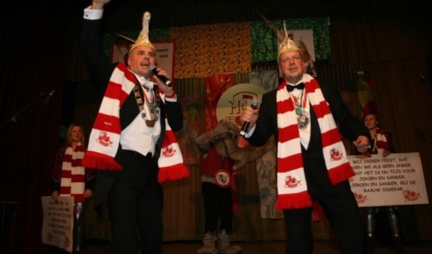 De winnaars van het Maaslands Carnavals Liedjes Festival (MCLF) in 2018.