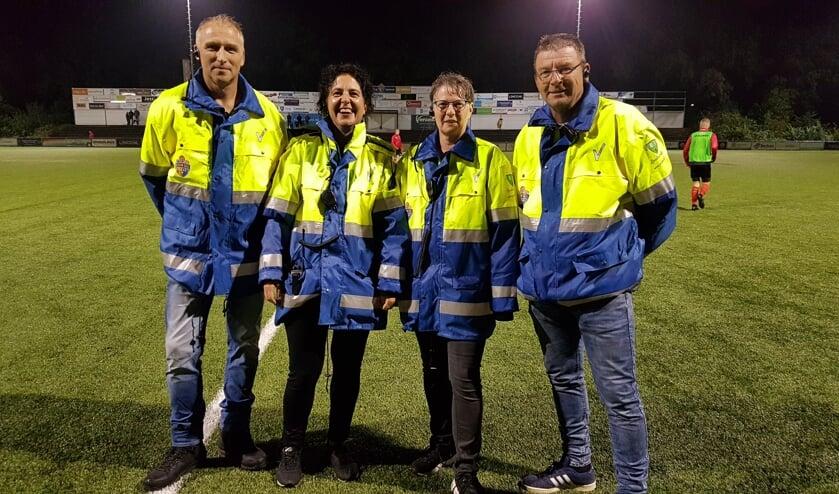 De stewards van Blauw Geel.