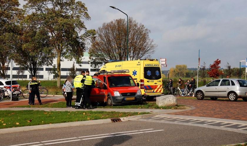 Scholiere gewond na aanrijding op de Katwijkseweg in Cuijk