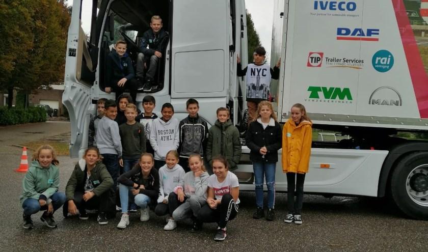 Leerlingen van basisschool De Bunders.