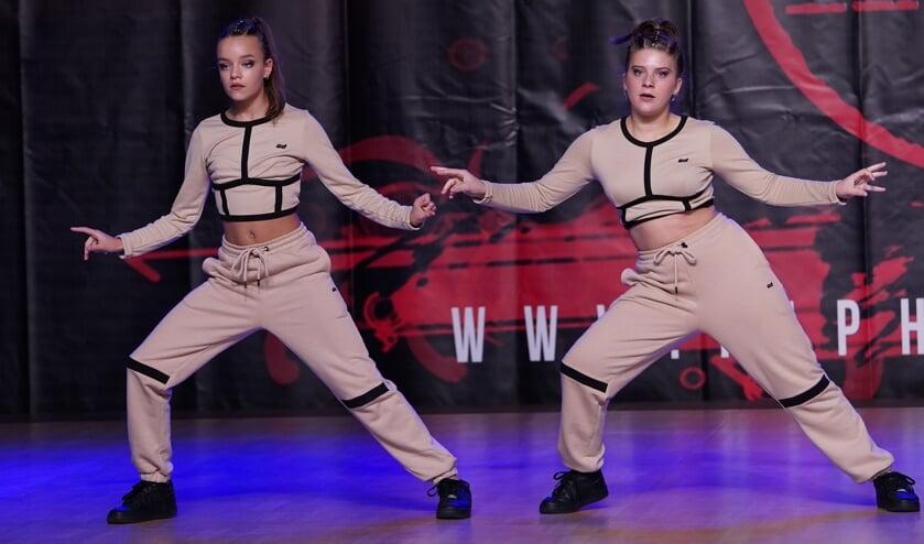 Duo 2Squad van Chance4Dance eindigde als vijfde op het WK Hip Hop.