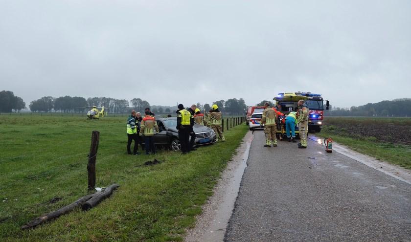 Automobilist overleden in Ottersum.