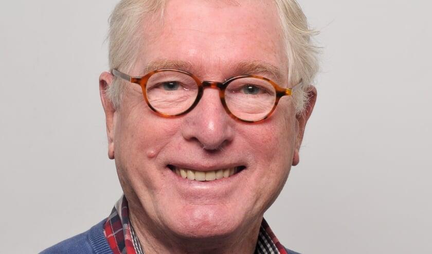 Louk Hombergen alias Van Veldeke, columnist van de Seniorenpagina SWOC.