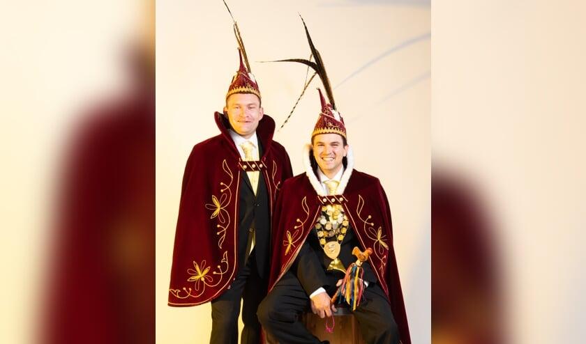 Ruud van Tilburg en Kevin van Sonsbeek.