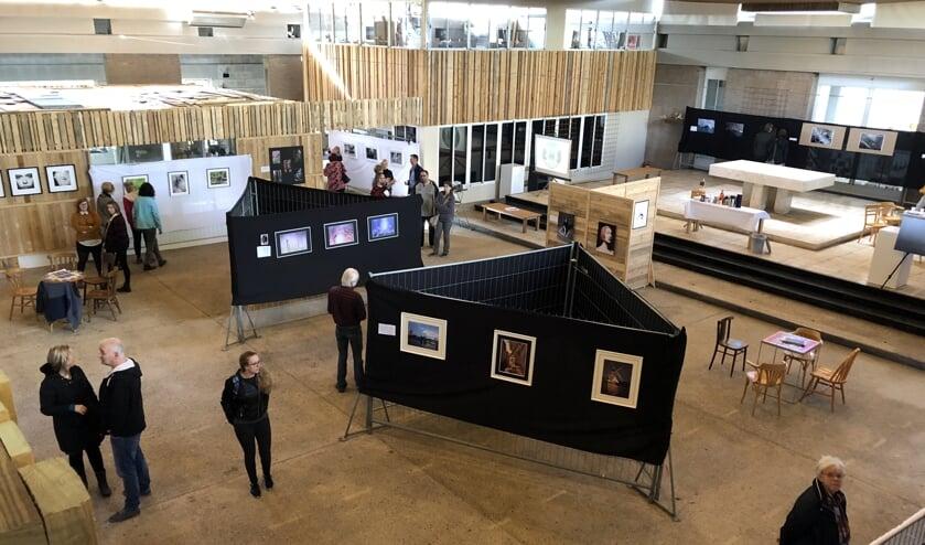 De expositie van vorig jaar.