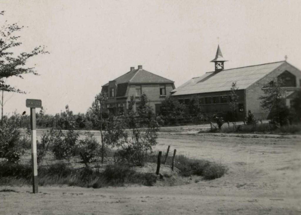 Odiliapeel noodkerk Foto: Stichting Het Uden-archief van Bressers © Kliknieuws Uden