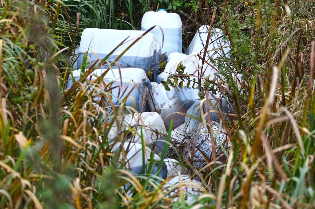 Vaten in Lithoijen. (Foto: Gabor Heeres / Foto Mallo) Foto: Gabor Heeres © 112 Brabantnieuws