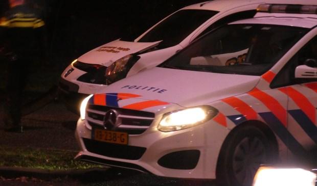 Auto's botsen op Osse kruising. (Foto: Thomas)  © Kliknieuws Oss