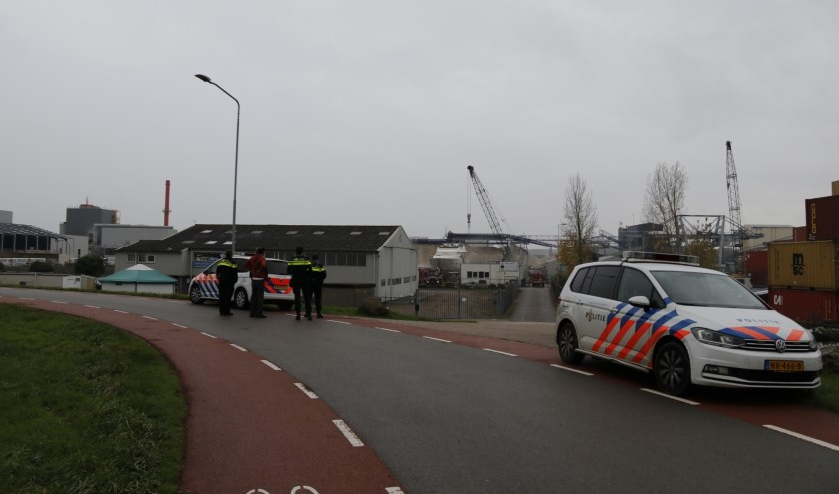 Brand op boot in Katwijk snel geblust.