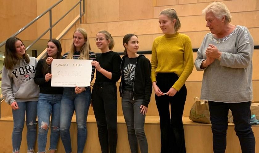 24 uur niet eten voor het goede doel heeft ruim 2.300 euro opgeleverd voor goede doelen.