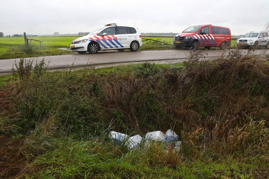 Vaten in Lithoijen. (Foto: Gabor Heeres / Foto Mallo)  © 112 Brabantnieuws