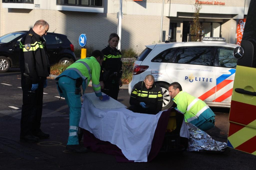 Ongeluk in de Raadhuislaan. (Foto: Gabor Heeres / Foto Mallo)  © Kliknieuws Oss