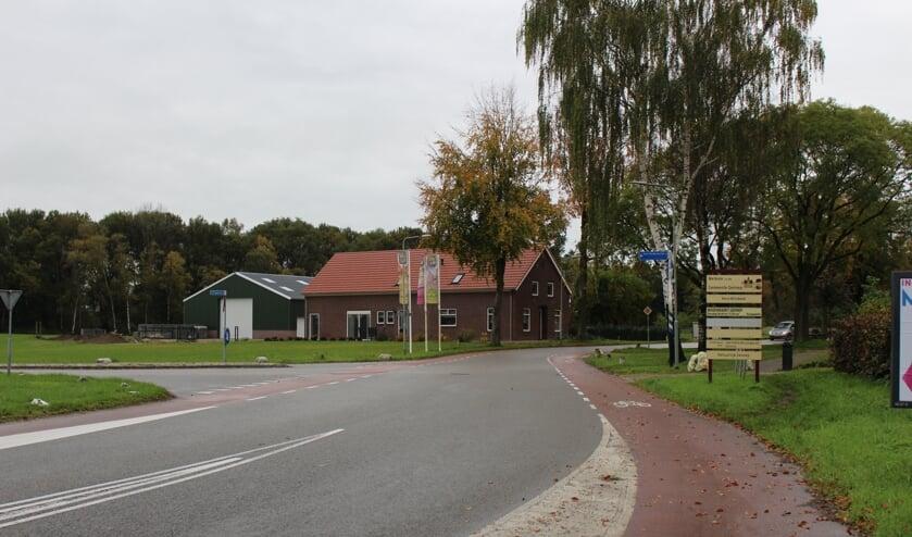 De Zwarteweg in Milsbeek.