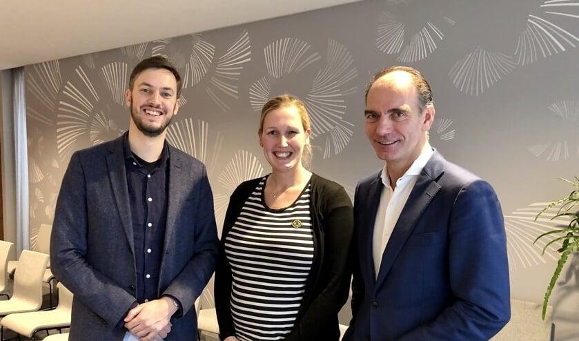 Rik Compagne, Madelien van Maren  en Noud van den Boer.