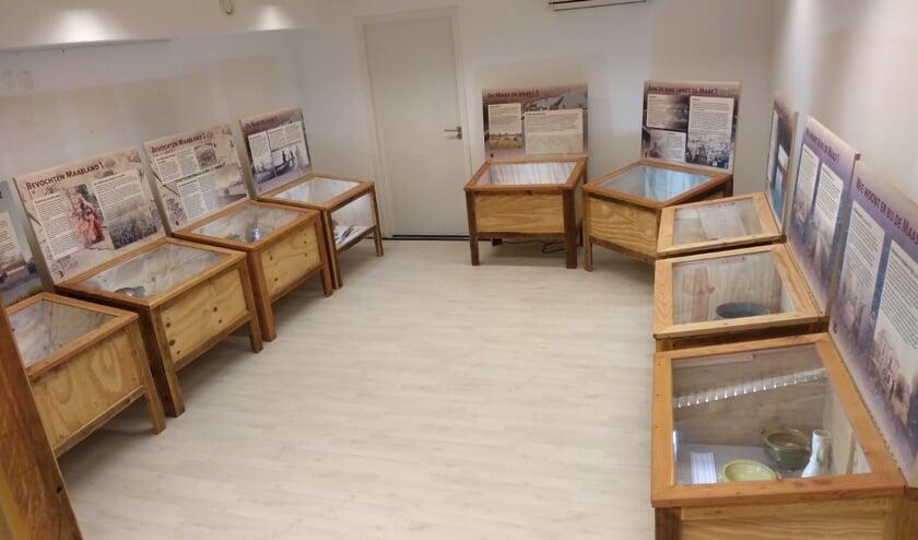 Reizende tentoonstelling Mens en Maas nu te zien bij VVV winkel Oss: