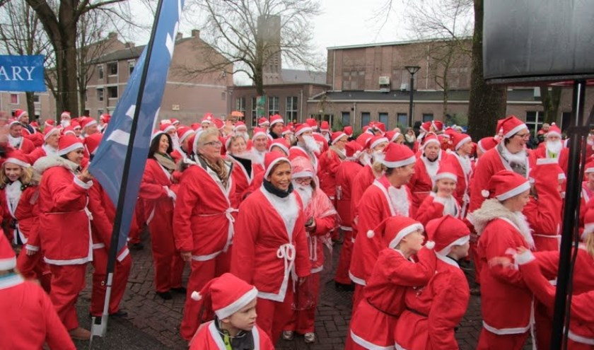 Santa Run in Oss.