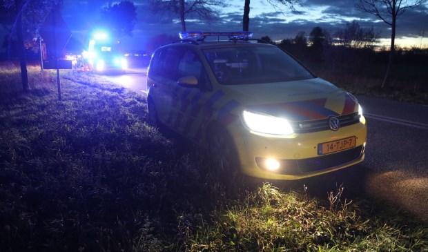 Jager gewond bij ongeval in Macharen. (Foto: Gabor Heeres / Foto Mallo)  © 112 Brabantnieuws