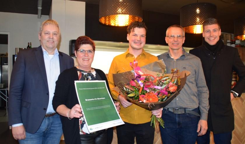 Sjors Dollevoet is winnaar geworden van de Ondernemersprijs Mill en Sint Hubert.