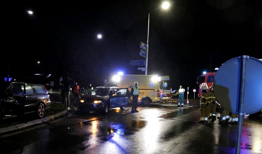Drie auto's betrokken bij ongeval op de N272 bij Sint Anthonis.