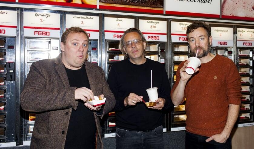 Roelof de Vries, Marcel van Roosmalen en Jan Dirk van der Burg (Foto: Renate Beense).
