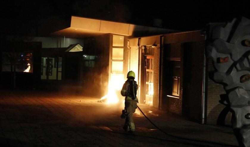 Brand aan de Picardie in Gennep.