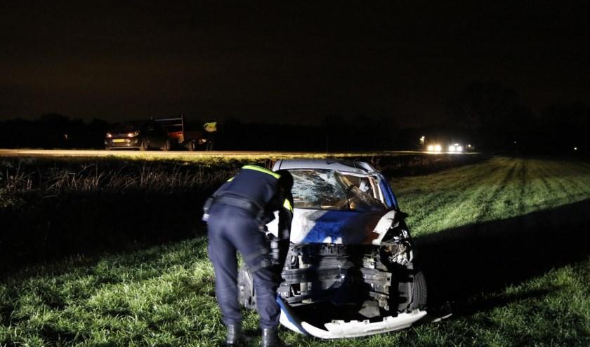 Ongeluk in Overloon.