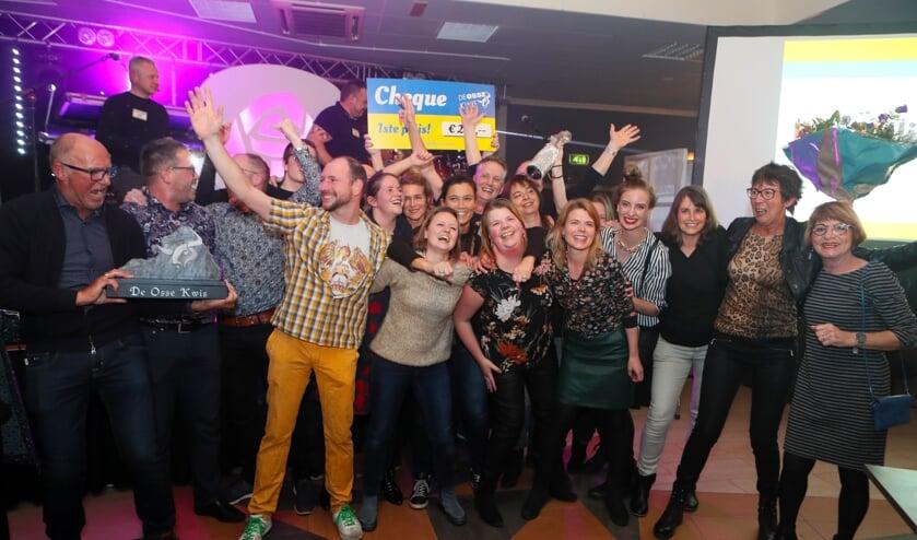 De winnaars van de Osse Kwis.