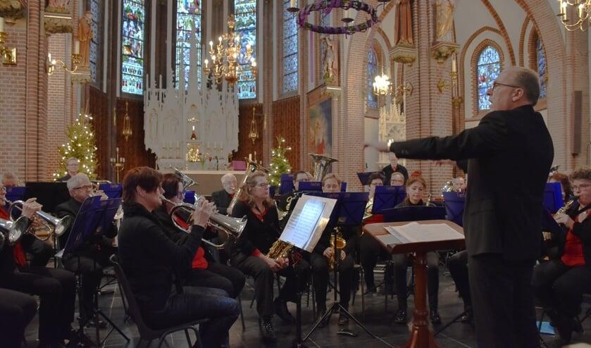 Het Kerstconcert van Fanfare Lith in 2017 in de Sint Lambertuskerk.