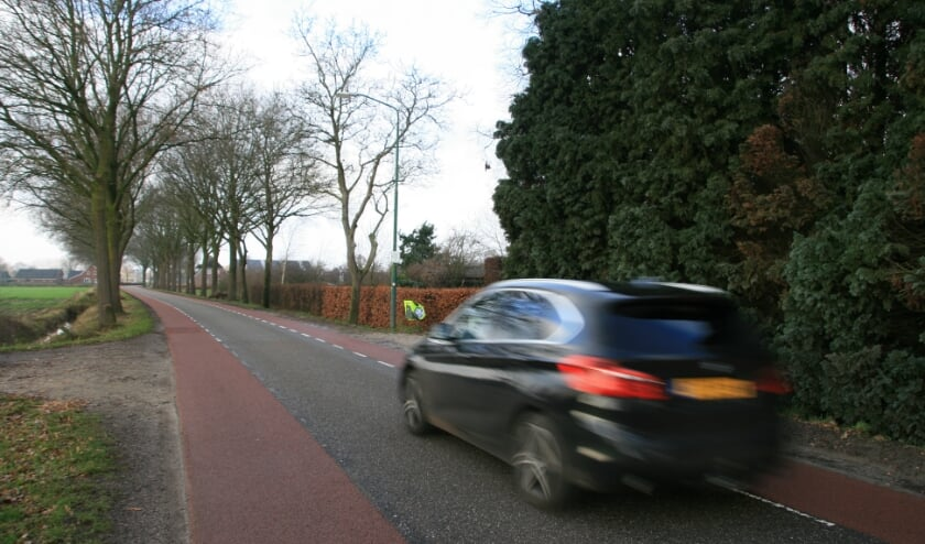 Aanwonenden van de Lokkantseweg in Haps pleiten al jaren voor het veilig maken van de weg.